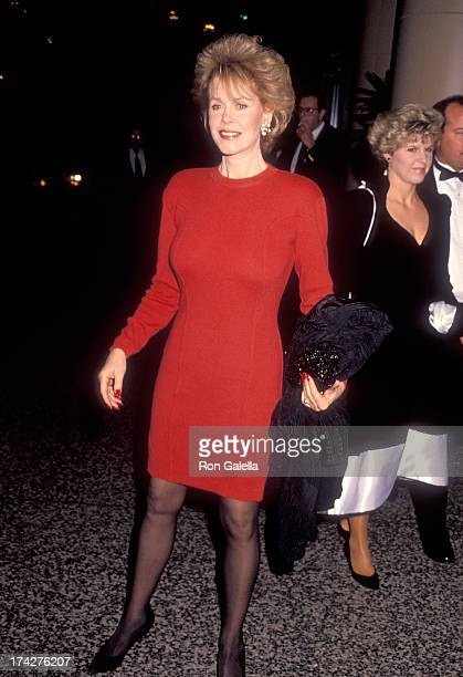 Actress Elizabeth Montgomery attends the 14th Annual Friends of the Los Angeles Free Clinic Celebrity Dinner/Roast to Marcy Carsey and Tom Werner on...