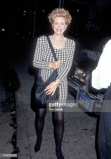 Actress Elizabeth Montgomery attends the 17th Annual Fundraiser Brunch for the Rape Treatment Center of Santa Monica Hospital on September 22 1991 at...