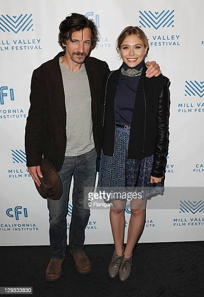 Actress Elizabeth Olsen and Actor John Hawkes attend the Martha Marcy May Marlene Screening during the 2011 Mill Valley Film Festival at Christopher...