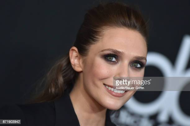 Actress Elizabeth Olsen arrives at the 21st Annual Hollywood Film Awards at The Beverly Hilton Hotel on November 5 2017 in Beverly Hills California
