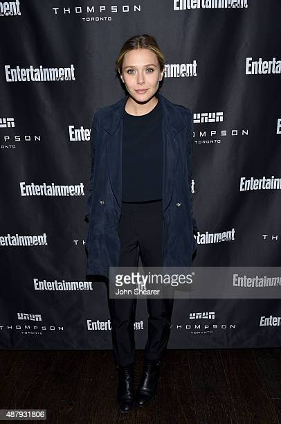 Actress Elizabeth Olsen attends EW's Must List Party during the 2015 Toronto International Film Festival at Thompson Hotel on September 12 2015 in...