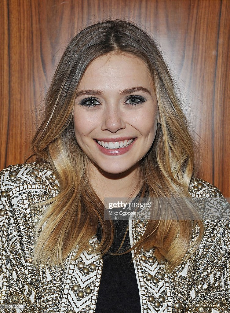 Actress Elizabeth Olsen attends the after party for the 'Silent House' premiere at Stone Rose Lounge on March 6 2012 in New York City