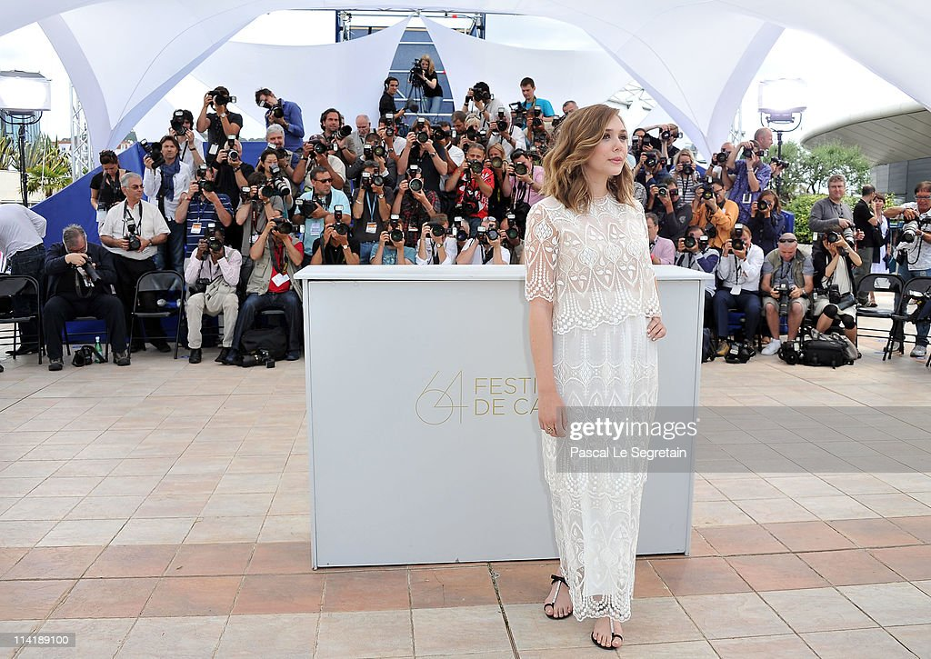 Actress Elizabeth Olsen attends the 'Martha Marcy May Marlene' photocall at the Palais des Festivals during 64th Cannes Film Festival on May 15, 2011 in Cannes, France.
