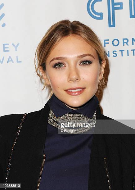 Actress Elizabeth Olsen attends the Martha Marcy May Marlene Screening during the 2011 Mill Valley Film Festival at Christopher B Smith Rafael Film...
