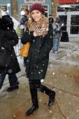 Actress Elizabeth Olsen attends the Sundance Film Festival on January 22 2011 in Park City Utah