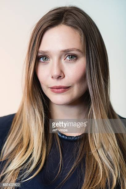 Actress Elizabeth Olsen from the film 'Ingrid Goes West' poses for a portrait in the WireImage Portrait Studio presented by DIRECTV on January 21...