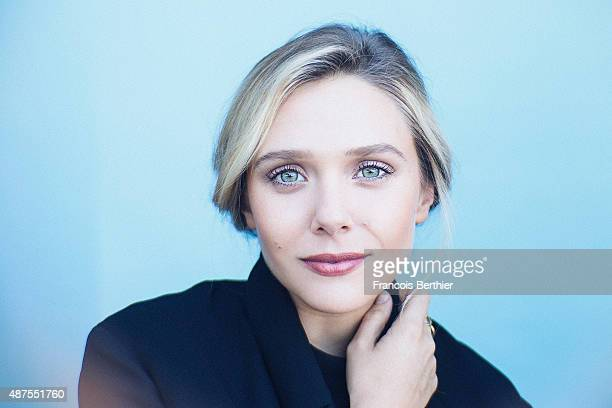 Actress Elizabeth Olsen is photographed at the 41st Deauville American Film Festival on September 9 2015 in Deauville France