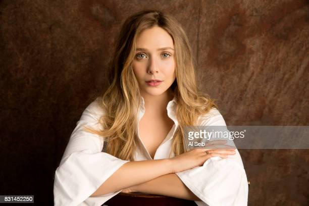 Actress Elizabeth Olsen is photographed for Los Angeles Times on July 12 2017 in Los Angeles California PUBLISHED IMAGE CREDIT MUST READ Al Seib/Los...