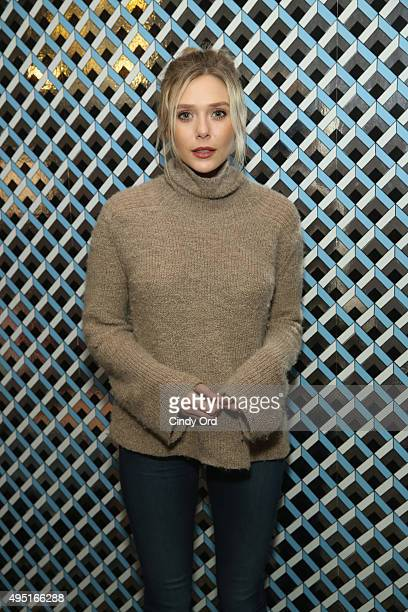 Actress Elizabeth Olsen of 'I Saw the Light' poses for a photo during the Closing Night Screening Of 'I Saw the Light' and Awards Presentation at...