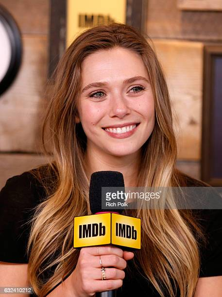 Actress Elizabeth Olsen of 'Wind River' attends The IMDb Studio featuring the Filmmaker Discovery Lounge presented by Amazon Video Direct Day Three...