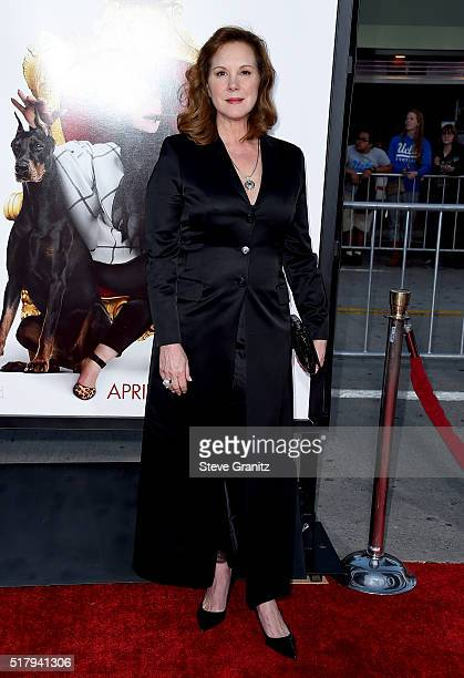Actress Elizabeth Perkins attends the premiere of USA Pictures' 'The Boss' at Regency Village Theatre on March 28 2016 in Westwood California