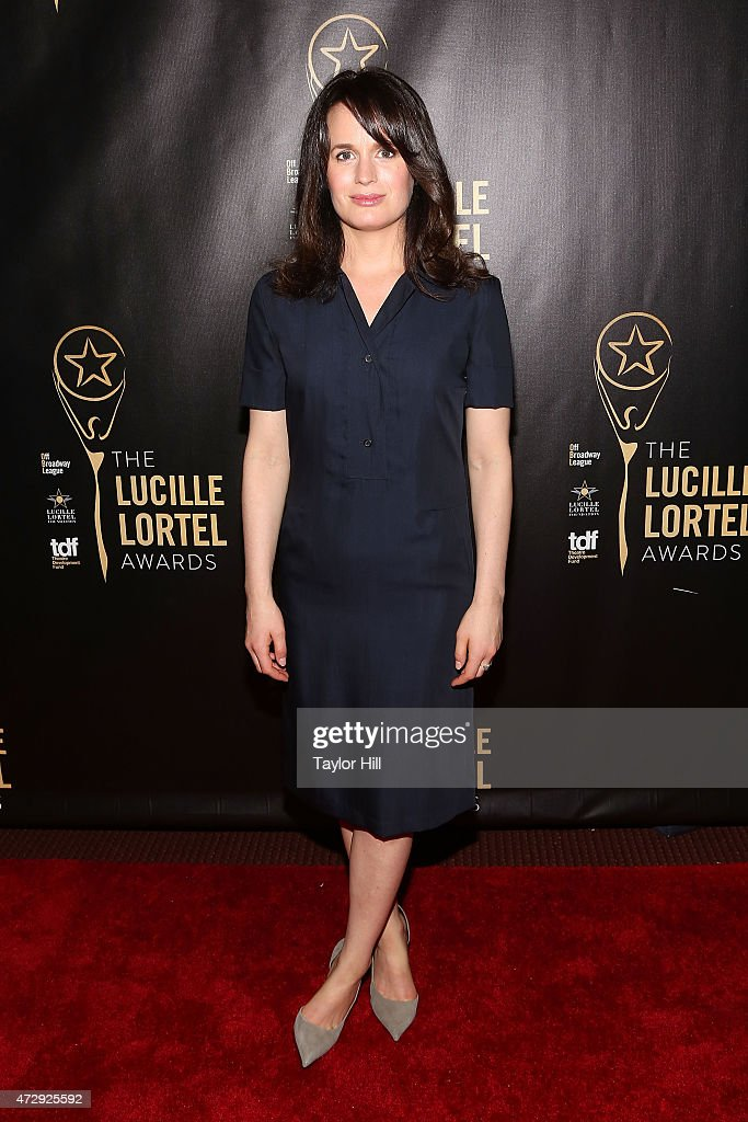 Actress Elizabeth Reaser attends the 2015 Lucille Lortel Awards at NYU Skirball Center on May 10, 2015 in New York City.