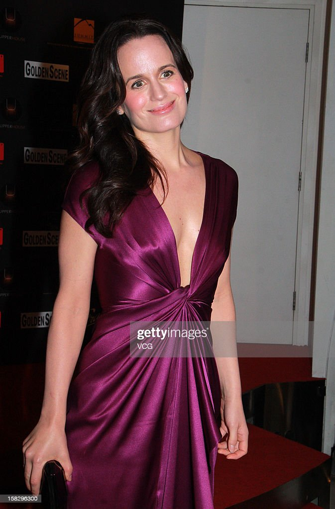 Actress Elizabeth Reaser attends the 'Twilight Saga: Breaking Dawn Part 2' premiere at the Grand Cinema on December 12, 2012 in Hong Kong.