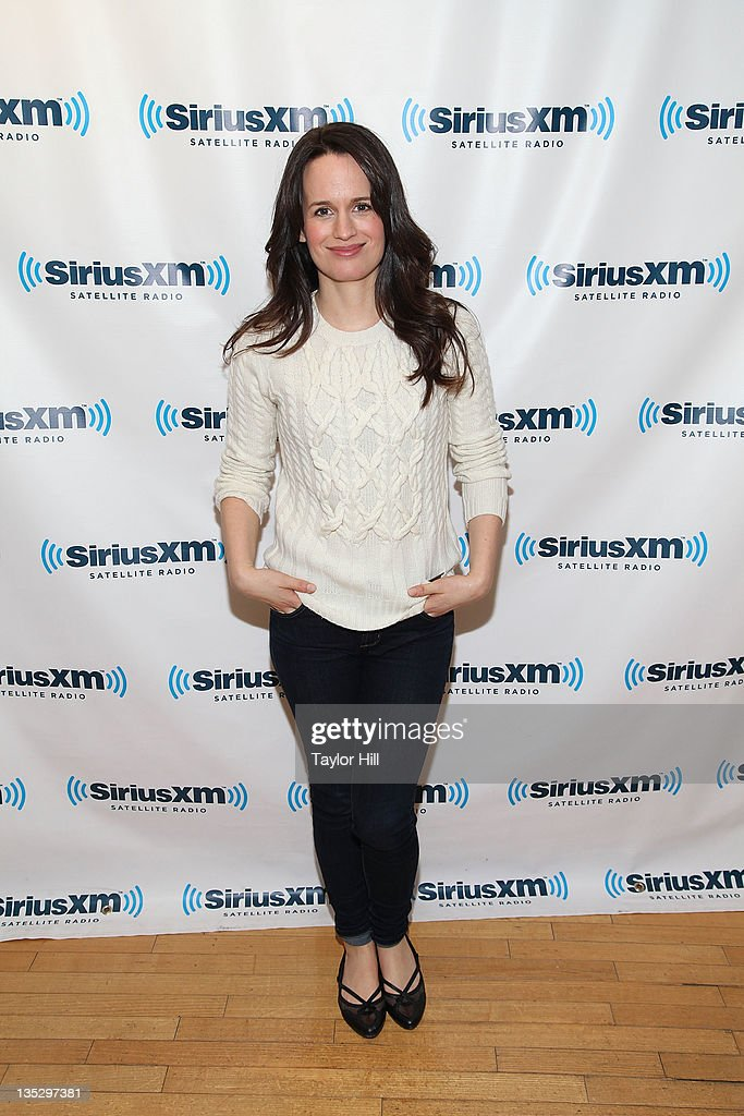 Actress Elizabeth Reaser visits 'The Morning Jolt with Larry Flick' at the SiriusXM Studio on December 8 2011 in New York City
