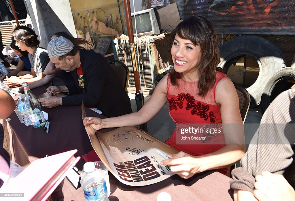 Actress Elizabeth Rodriguez attends AMC's 'Fear The Walking Dead' during Comic-Con International 2015 at the Hilton Bayfront on July 11, 2015 in San Diego, California.