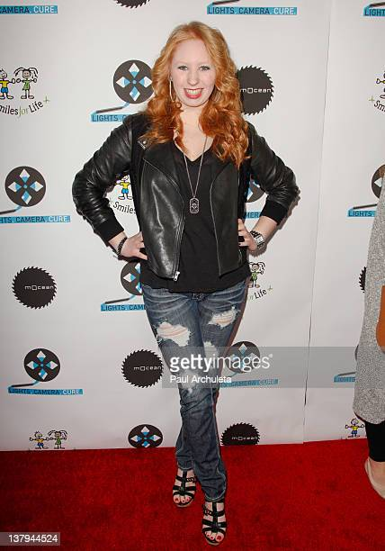 Actress Elizabeth Stanton attends the 'Lights Camera Cure 2012 Hollywood DanceAThon' at Avalon on January 29 2012 in Hollywood California