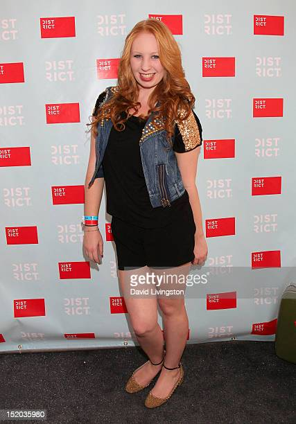 Actress Elizabeth Stanton attends Variety's Power of Youth presented by Cartoon Network held at Paramount Studios on September 15 2012 in Hollywood...