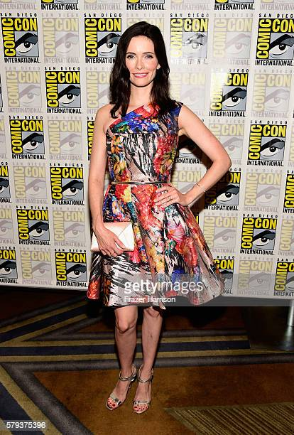 Actress Elizabeth Tulloch attends the 'Grimm' press line during ComicCon International on July 23 2016 in San Diego California