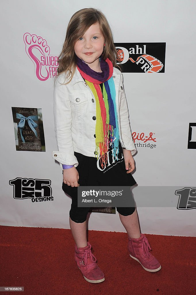 Actress Ella Anderson arrives Screenings Of 'The Dead Kid' And 'My Life My Power' held at CAP Studios on April 30, 2013 in Sherman Oaks, California.
