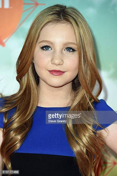 Actress Ella Anderson attends Nickelodeon's 2016 Kids' Choice Awards at The Forum on March 12 2016 in Inglewood California