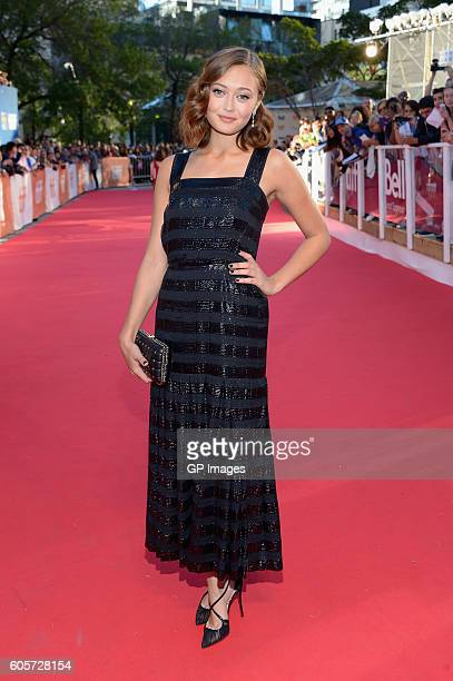 Actress Ella Purnell attends 'The Journey Is The Destination' Premiere during 2016 Toronto International Film Festival at Ryerson Theatre on...