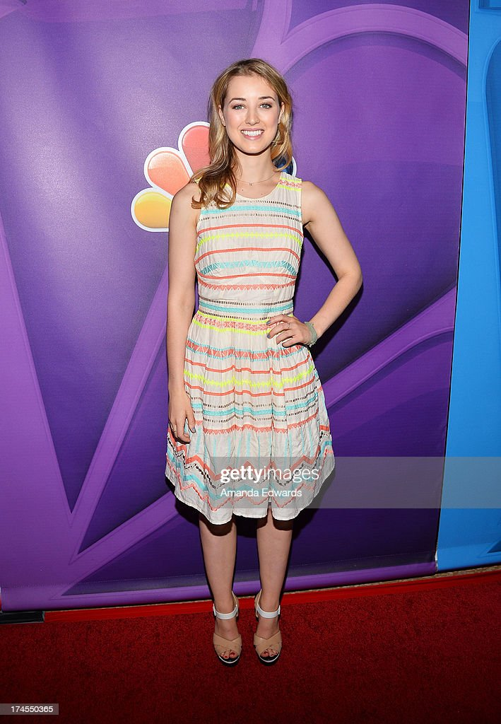 Actress Ella Rae Peck arrives at the 2013 Television Critics Association's Summer Press Tour - NBC Party at The Beverly Hilton Hotel on July 27, 2013 in Beverly Hills, California.