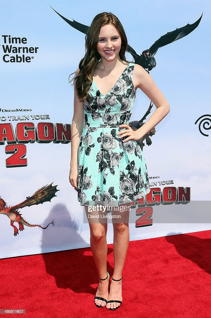 Actress Ella Wahlestedt attends the premiere of Twentieth Century Fox and DreamWorks Animation 'How to Train Your Dragon 2' at the Regency Village Theatre on June 8, 2014 in Westwood, California.