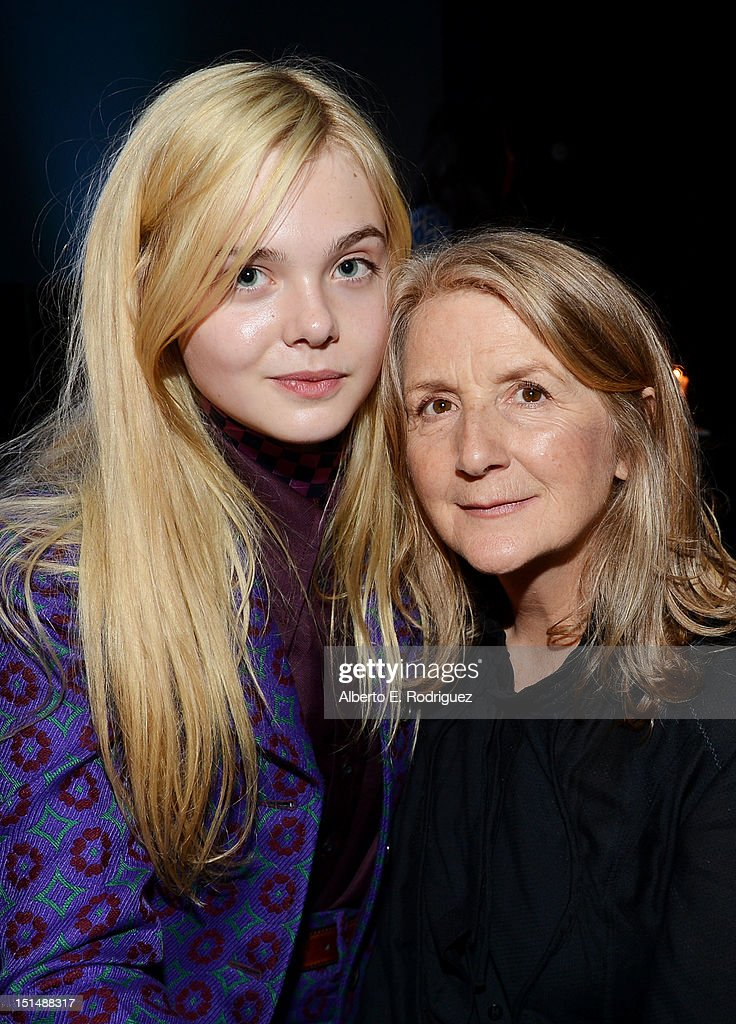 Actress <a gi-track='captionPersonalityLinkClicked' href=/galleries/search?phrase=Elle+Fanning&family=editorial&specificpeople=2189940 ng-click='$event.stopPropagation()'>Elle Fanning</a> and Filmmaker <a gi-track='captionPersonalityLinkClicked' href=/galleries/search?phrase=Sally+Potter&family=editorial&specificpeople=212743 ng-click='$event.stopPropagation()'>Sally Potter</a> attend the 'Ginger & Rosa' post premiere reception during 2012 Toronto International Film Festival held at the AMC Storys on September 7, 2012 in Toronto, Canada.