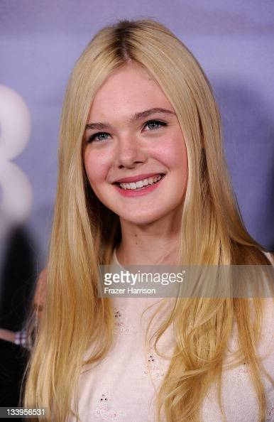 Actress Elle Fanning arrives at Paramount Pictures' 'Super 8' Bluray and DVD release party at AMPAS Samuel Goldwyn Theater on November 22 2011 in...