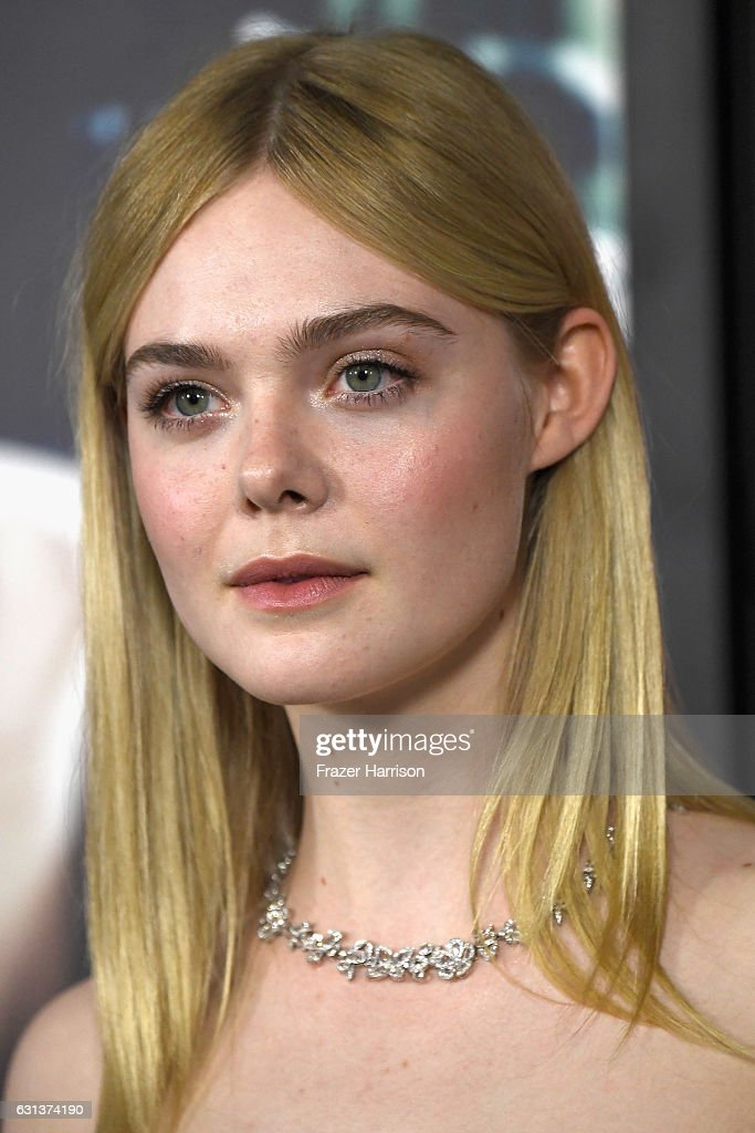Actress Elle Fanning arrives at the Premiere Of Warner Bros. Pictures' 'Live By Night' at TCL Chinese Theatre on January 9, 2017 in Hollywood, California.