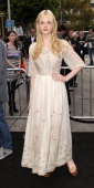 Actress Elle Fanning attends the Premiere of Paramount Pictures' 'Super 8' at the Regency Village Theater on June 8 2011 in Los Angeles California