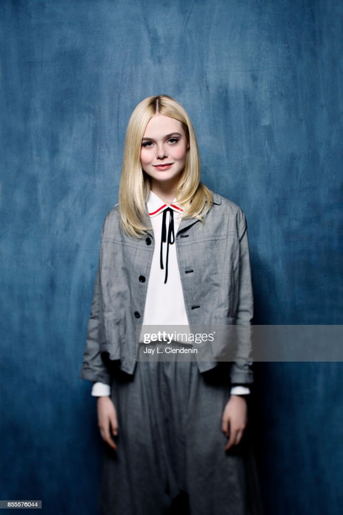 Actress Elle Fanning, from the film 'Mary Shelley,' poses for a portrait at the 2017 Toronto International Film Festival for Los Angeles Times on September 10, 2017 in Toronto, Ontario.