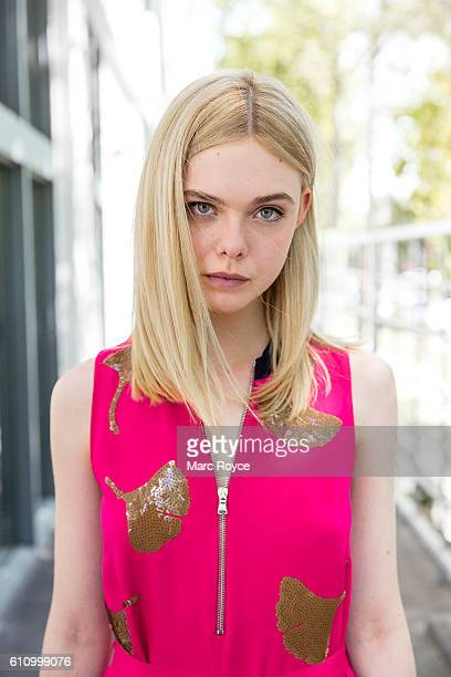 Actress Elle Fanning is photographed for USA Today on June 15 2016 in Los Angeles California