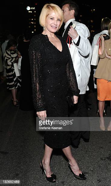 Actress Ellen Barkin attends 2011 MOCA Gala An Artist's Life Manifesto Directed by Marina Abramovic at MOCA Grand Avenue on November 12 2011 in Los...