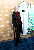 Actress Ellen Barkin attends the premiere of TNT's 'Animal Kingdom' at The Rose Room on June 8 2016 in Venice California