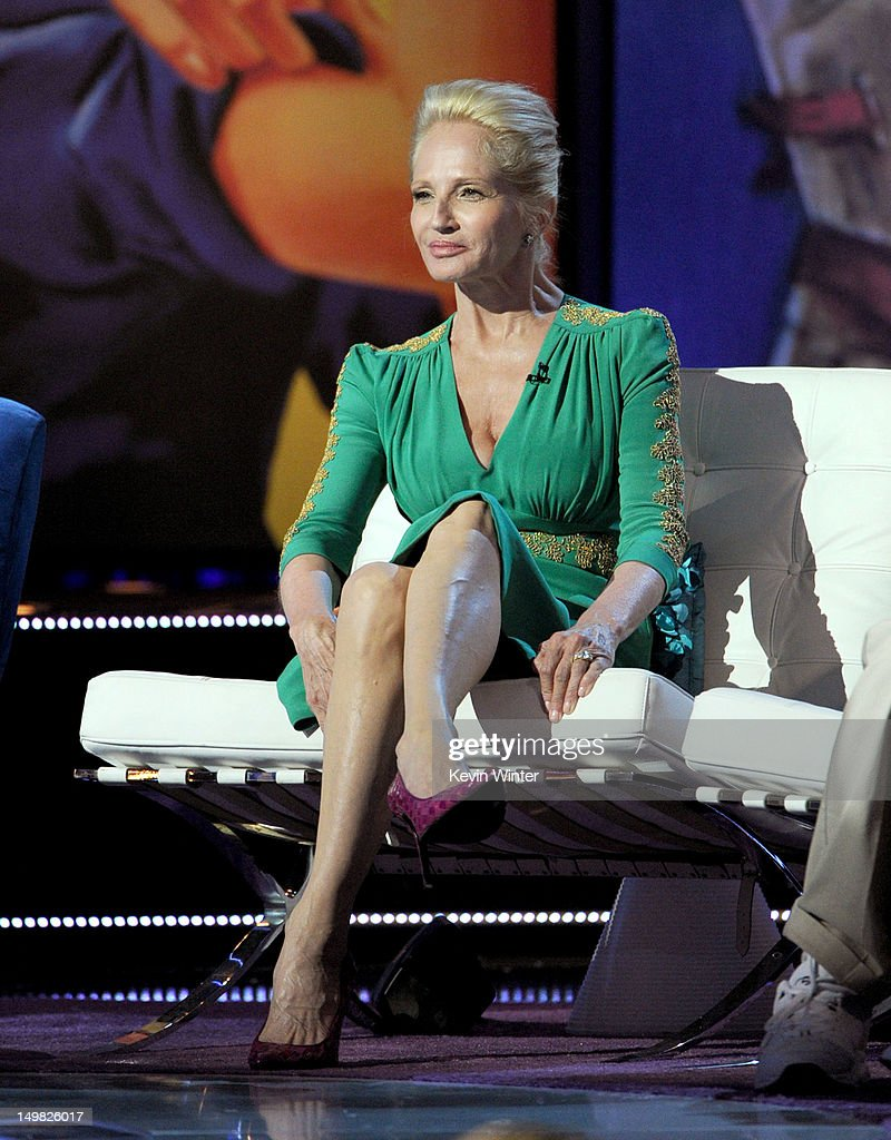 Actress Ellen Barkin onstage during the Comedy Central Roast of Roseanne Barr at Hollywood Palladium on August 4, 2012 in Hollywood, California.