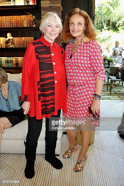Actress Ellen Burstyn and Founder DVF Diane von Furstenberg attend the 3rd Annual DVF Oscar Luncheon honoring the female nominees of the 88th Academy...