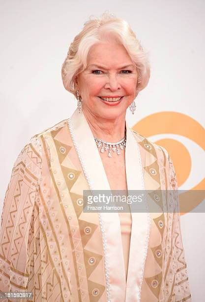 Actress Ellen Burstyn arrives at the 65th Annual Primetime Emmy Awards held at Nokia Theatre LA Live on September 22 2013 in Los Angeles California