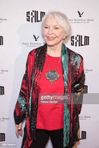 Actress Ellen Burstyn arrives at the premiere of 'The House of Tomorrow' at the 60th San Francisco International Film Festival at Yerba Buena Center...