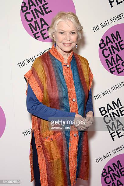 Actress Ellen Burstyn attends BAMcinemaFest 2016 'Wiener Dog' Centerpiece Screening at BAM Harvey Theater on June 17 2016 in New York City