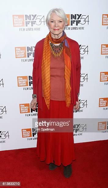 Actress Ellen Burstyn attends the 54th New York Film Festival 'Bright Lights' screening at Alice Tully Hall on October 10 2016 in New York City