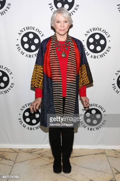 Actress Ellen Burstyn attends The Anthology Film Archives Benefit and Auction on March 2 2017 in New York City