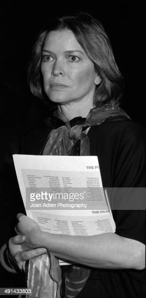 Actress Ellen Burstyn attends the Filmex black tie ball at the Century City Hotel after the movie premiere of 'FIST' on April 13 1978 in Los Angeles...