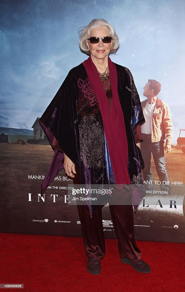 Actress Ellen Burstyn attends the 'Interstellar' New York Premiere at AMC Lincoln Square Theater on November 3, 2014 in New York City.