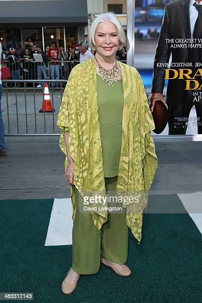 Actress Ellen Burstyn attends the premiere of Summit Entertainment's 'Draft Day' at the Regency Village Theatre on April 7 2014 in Los Angeles...