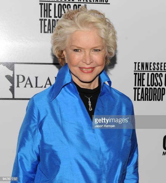 Actress Ellen Burstyn attends the premiere of 'The Loss of a Teardrop Diamond' hosted by Gotham Magazine and Paladin at City Cinemas 123 on December...