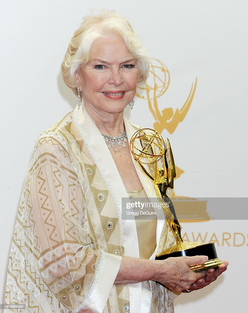 Actress Ellen Burstyn poses in the press room at the 65th Annual Primetime Emmy Awards at Nokia Theatre L.A. Live on September 22, 2013 in Los Angeles, California.