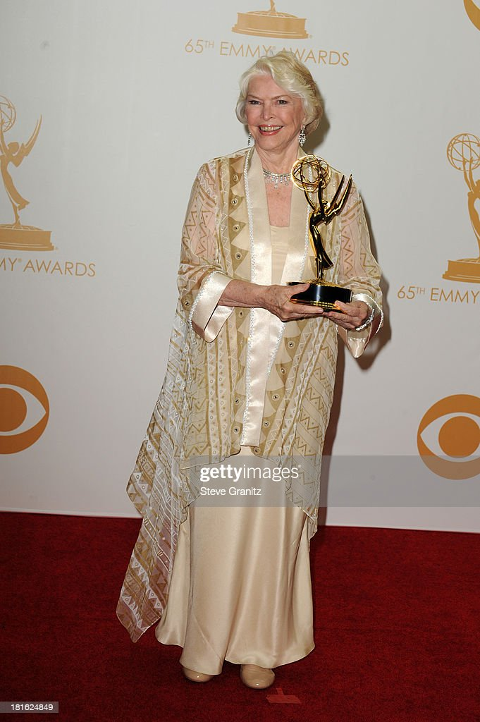 Actress Ellen Burstyn poses in the press room during the 65th Annual Primetime Emmy Awards held at Nokia Theatre L.A. Live on September 22, 2013 in Los Angeles, California.