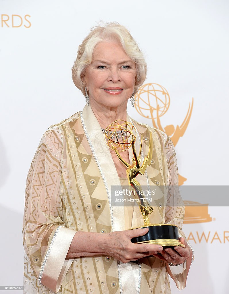 Actress Ellen Burstyn, winner of Outstanding Supporting Actress in a Miniseries or Movie for 'Political Animals,' poses in the press room during the 65th Annual Primetime Emmy Awards held at Nokia Theatre L.A. Live on September 22, 2013 in Los Angeles, California.