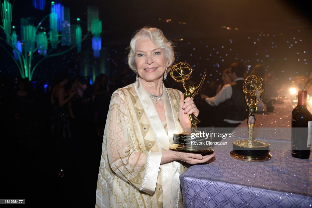 Actress Ellen Burstyn, winner of the Best Supporting Actress in a Miniseries or Movie Award for 'Political Animals,' attends the Governors Ball during the 65th Annual Primetime Emmy Awards at Nokia Theatre L.A. Live on September 22, 2013 in Los Angeles, California.